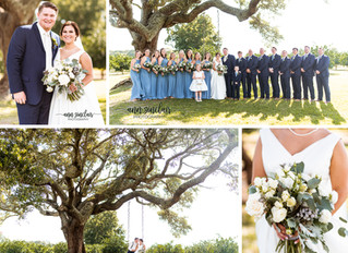 Courtney + Heath | Wedding | The Orchard at Hayes Farm | Theodore, Alabama