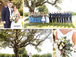 Courtney + Heath | Wedding | The Orchard at Hayes Farm | Theodore, Alabama