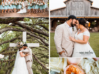 Morgan + Tyler | Wedding | Oak Hollow Farm | Fairhope, Alabama
