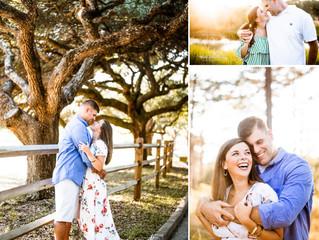 Whitney + PJ | Engagement | Mobile, Alabama
