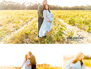 Carla + Ryan | Maternity | Holland Farms | Milton, Florida