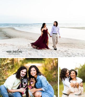 Sandra + Eli   Engagement   Ocean Springs, Mississippi