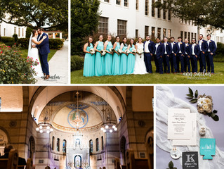 Allyson + Trey | Wedding | St. Mary's Catholic Church + McGill-Toolen High School | Mobile, Alabama