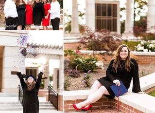 Ruby | Graduation + Family | University of South Alabama