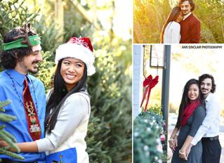 Sandra + Eli | Christmas | Fairhope, Alabama