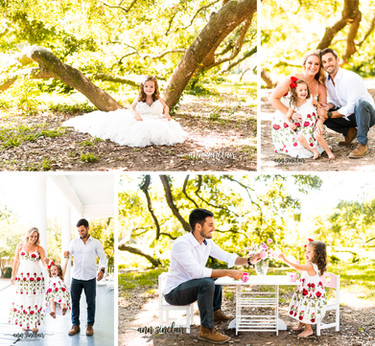 McConnell Family | Parker in Mom's Wedding Dress + Tea Party with Dad |  Spring Hill College