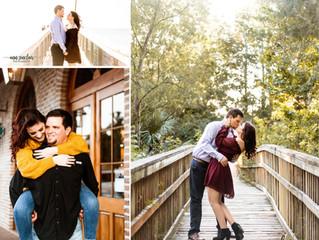 Makayla + Josh | Engagement | Daphne + Downtown Fairhope, Alabama