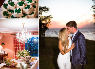 Courtney + Henley | Welcome Party | Montrose, Alabama