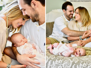 Collins Leigh Cotant | Newborn Lifestyle Session | Tuscaloosa, Alabama