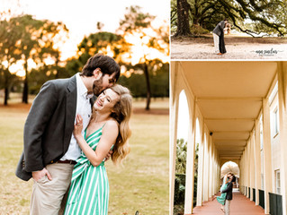 Grace + Justin | Engagement | Mobile, Alabama