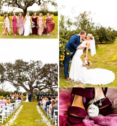 Alyssa + Josh | Wedding | The Orchard at Hayes Farm | Theodore, Alabama
