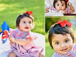 Selena | 1 Year Old Birthday + Smash Cake | Mobile, Alabama
