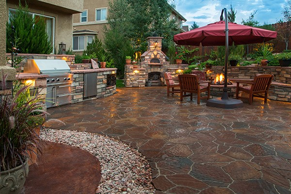 dedicated landscaping stamp concrete 2