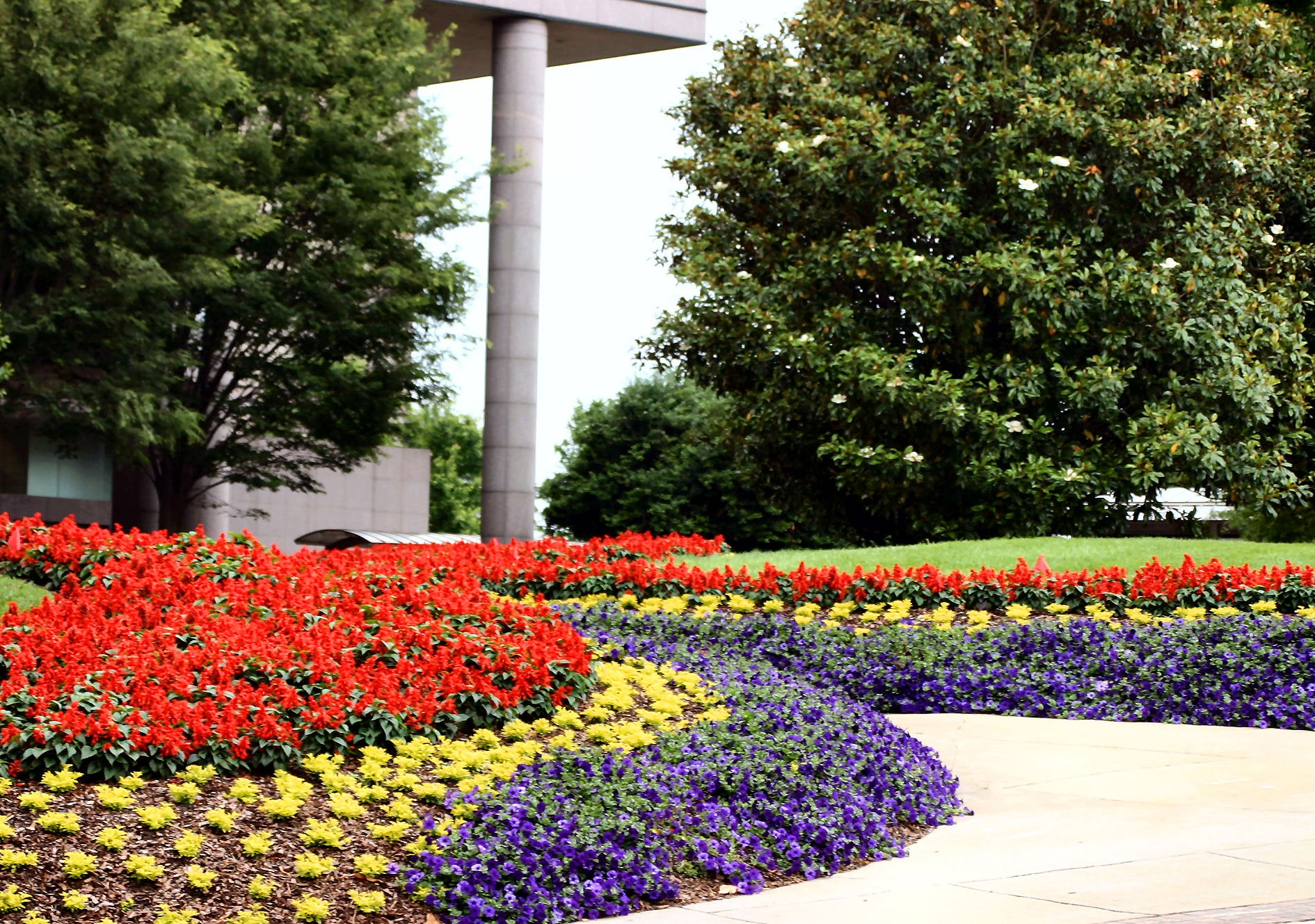 Dedicated Landscaping pic of floral on c