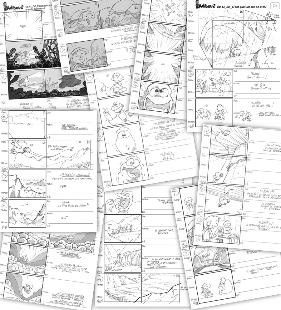 Storyboard ADIBOU