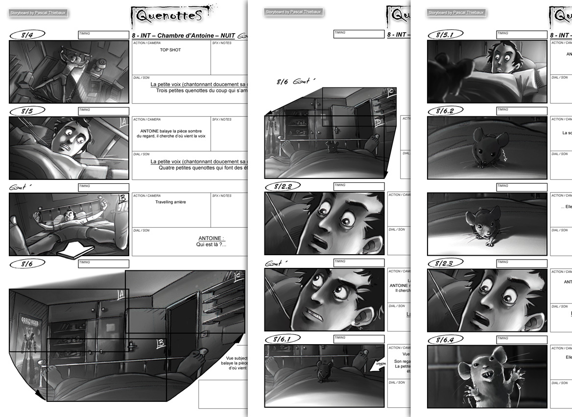 Storyboard QUENOTTES