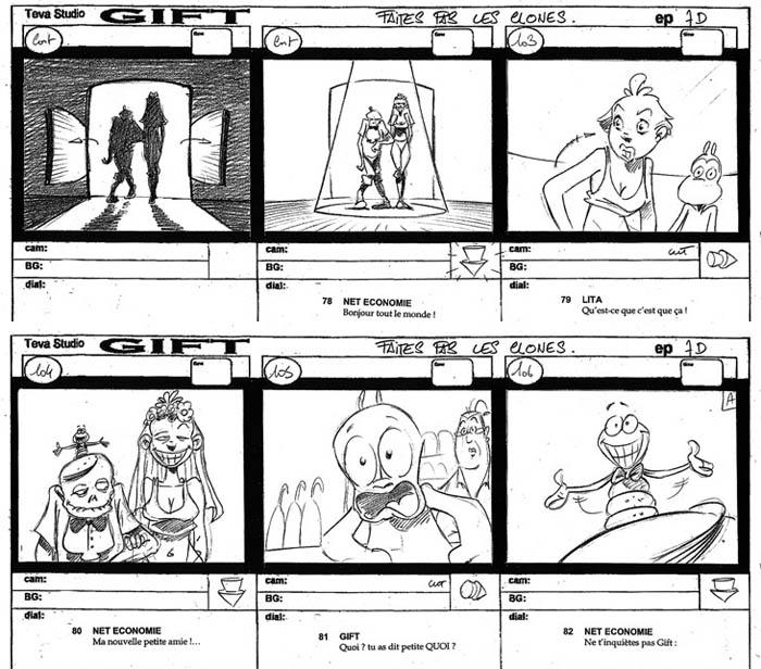 "Storyboard ""GIFT"""
