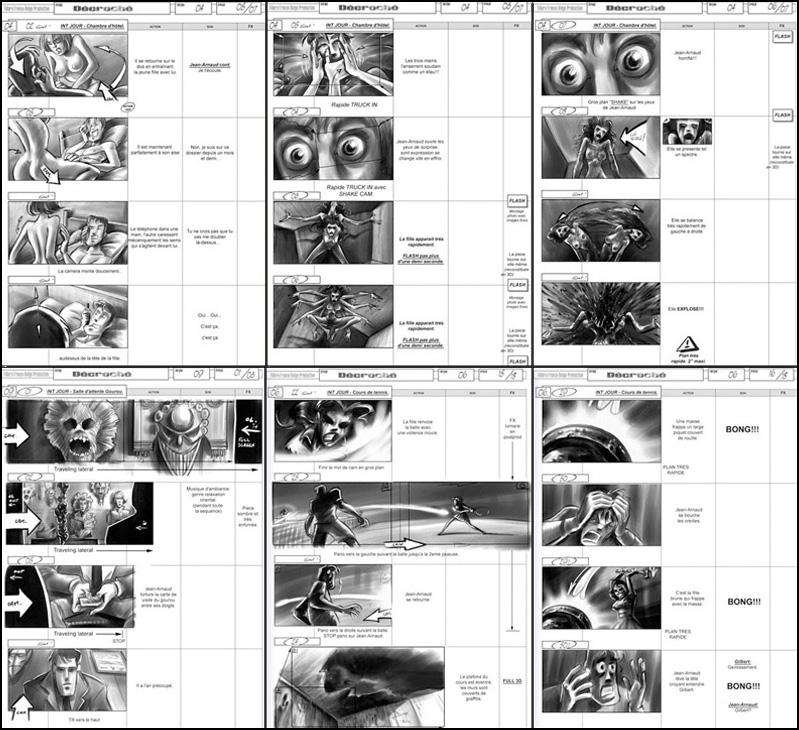 """Storyboard """"Décroché"""""""