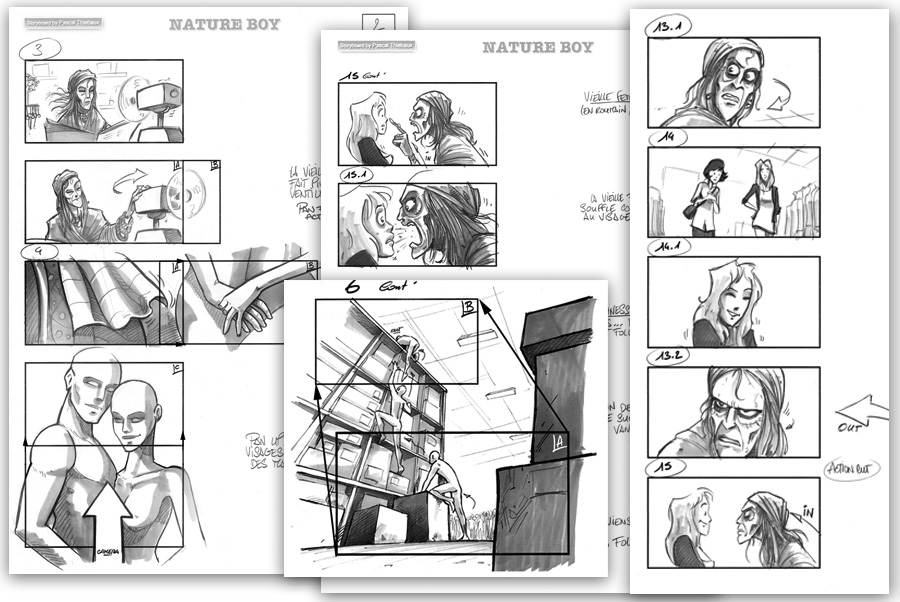 Storyboard Nature Boy