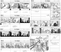 Storyboard Mr HUBLOT