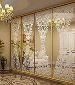 Рисунки на зеркале и стекле