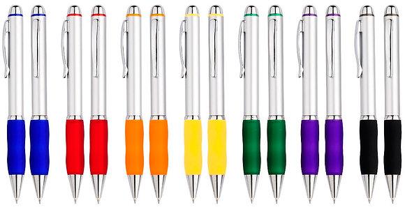 Bolígrafo Plástico Qasar Silver