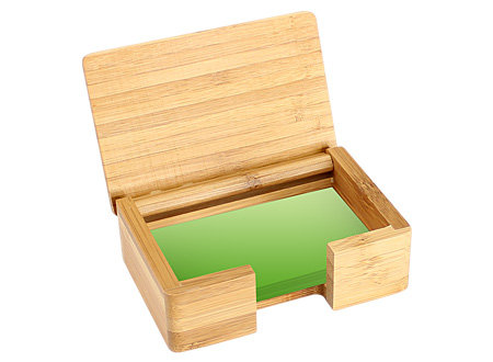 Tarjetero Sobremesa de Bamboo
