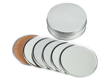 Set de Posavasos de Aluminio