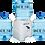 Thumbnail: Dispensador de agua + 3 Bidones