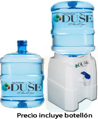 Dispensador de agua + 2 Bidones