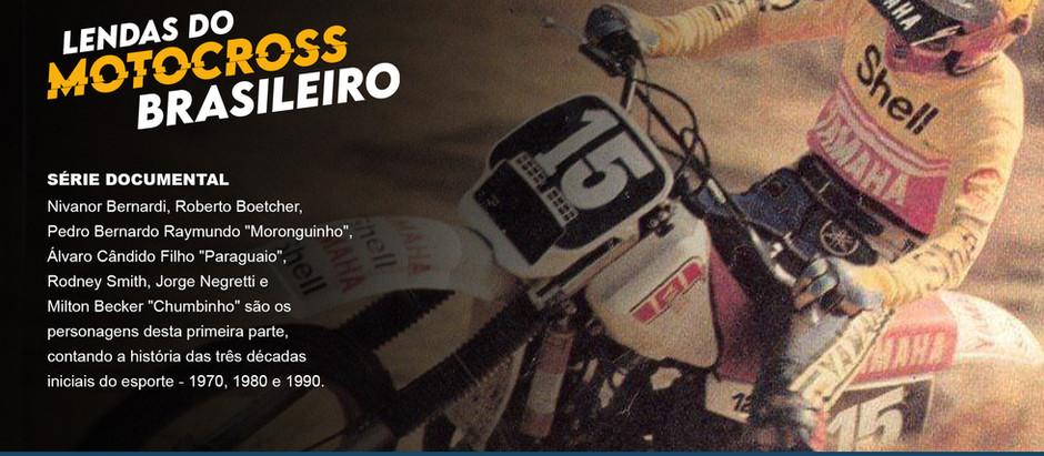Com exibição na TV, série contará a história do motocross brasileiro