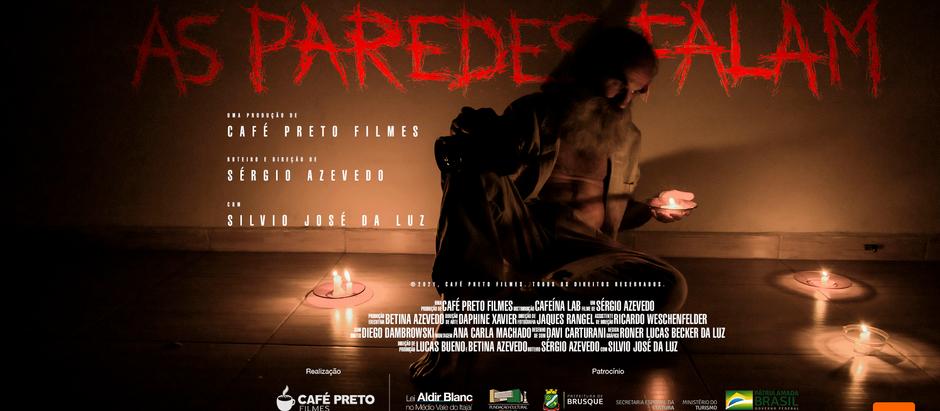 """Estreia do média-metragem """"As paredes falam"""" marca o quinto aniversário da Café Preto Filmes."""