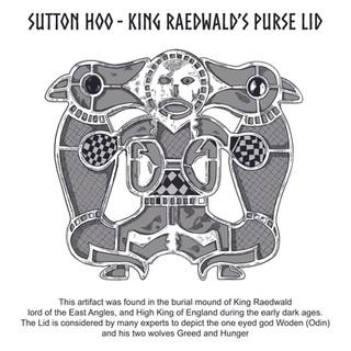 Sutton Hoo purse lid