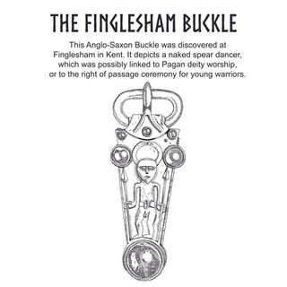 finglesham 'Spear Dancer' buckle - Anglo - Saxon