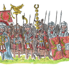 Romans on the march.jpg