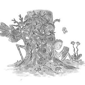 Away with the faeries B&W.jpg