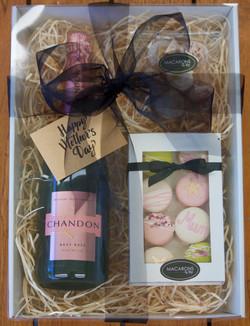 Macarons by Skye_macaron & sparkling gift hamper