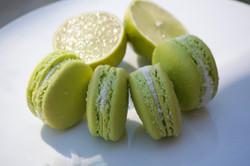 Lime Coconut Macarons - Macarons by Skye