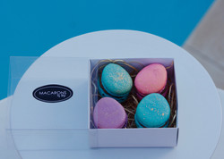 Easter gold fleck_Macarons by Skye
