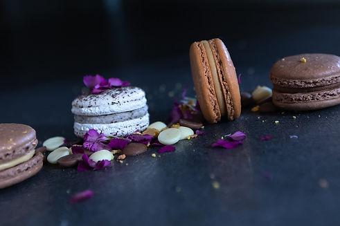 Macarons by Skye cookies chocolate salte
