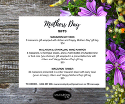 Macarons by Skye - Mother's Day macaron