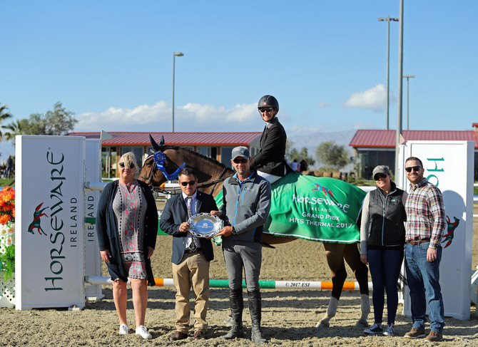 Girl Power: Mandy Porter Tops Strong Female Trio in $75,000 Horseware Ireland Grand Prix