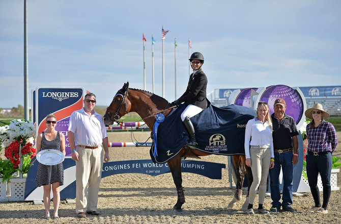 Mandy Porter Wins $36,500 Desert Classic CSI3*-W in Thermal, California