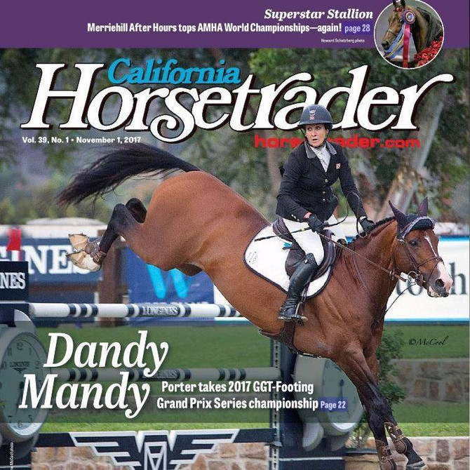Cover Feature of California Horsetrader