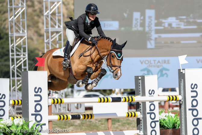 Mandy Porter and Centstar Emerge Victorious in $5,000 CWD 1.35m Welcome Stake at Temecula Valley Nat