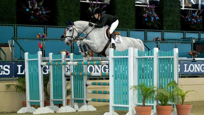 Encinitas show jumper Porter gets set for Del Mar event