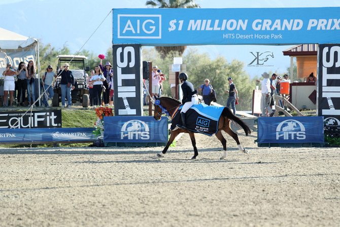 Million Dollar Mandy! West Coaster Captures AIG $1 Million Grand Prix at HITS Coachella