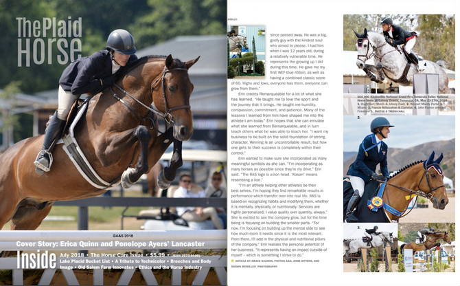 The Plaid Horse Magazine Showcases Mandy Porter's $60,000 KindredBio Grand Prix Win