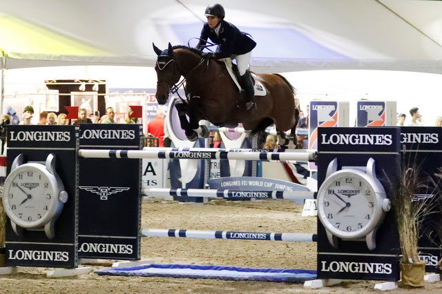 Mandy Porter Captures Emotional Victory Longines FEI World Cup™ Jumping Qualifier at Sacramento