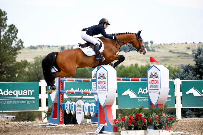 Mandy Porter and WT Ca-Pow! Clinch $25,000 Adequan Welcome Prix Victory